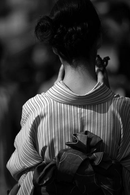 Woman in Kimono, Kyoto