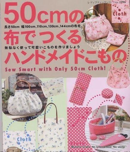 Coser con solo 50cm. de tela. (japones) - CoseConmigo - Picasa Webalbumok