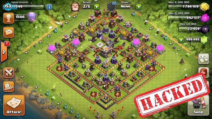 Clash of clans hack add unlimited gems 1 minute no