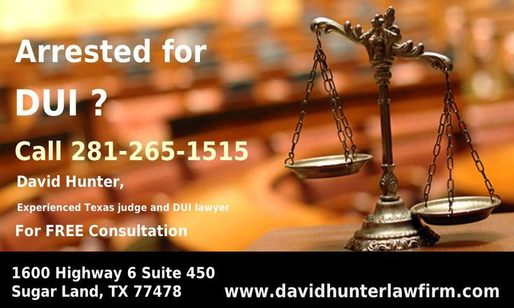 Hard to find out the best lawyers for criminal or other cases for solving your problems. You need a strong, aggressive and effective criminal defense attorney in Texas. As your criminal defense attorney, I will fight hard to protect your rights and preserve your freedom. For a free consultation with David Hunter, DWI lawyer, call 281-265-1515 http://www.davidhunterlawfirm.com/dui-driving-under-the-influence/
