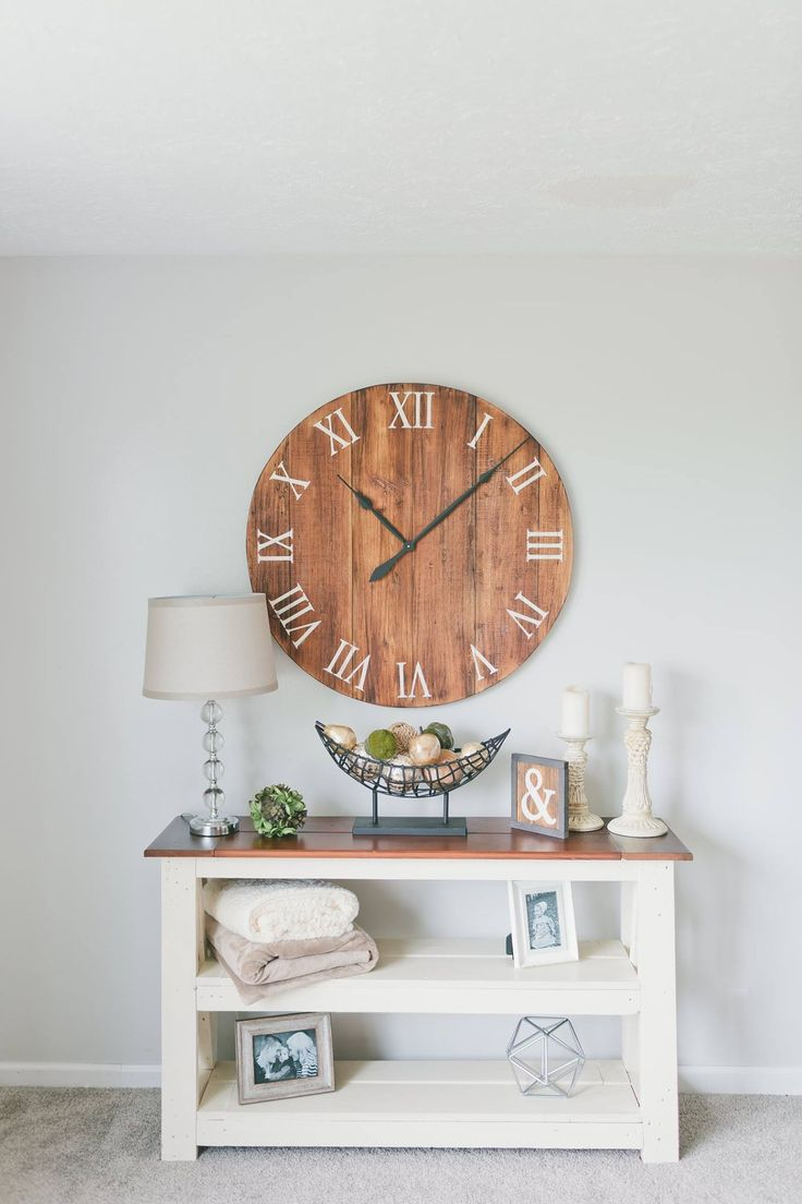 41 best large wall clock images on pinterest large wall clocks barn wood wall clocks amipublicfo Images