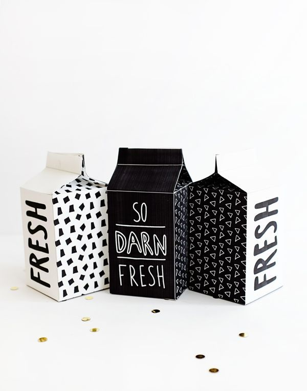 Printable Candy Cartons | Oh Happy Day! | Bloglovin'