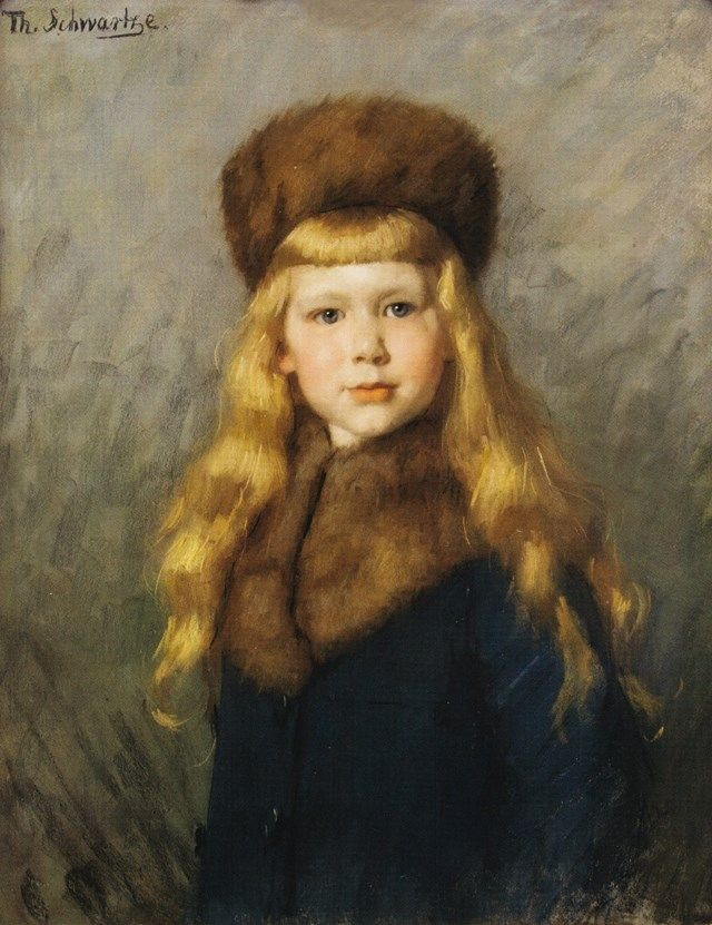 Thérèse Schwartze (Dutch painter) 1851 - 1918 Louis van Eeghen, ca. 1899