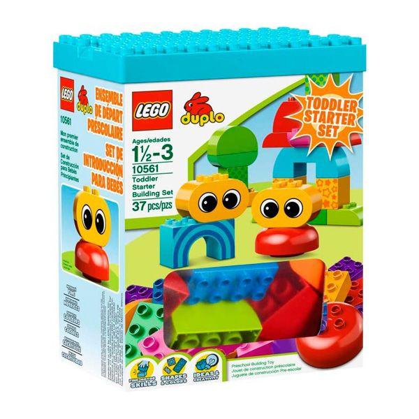 Lego Duplo - Set De Construccion Para Bebes; El primer juego de construcción para tu hijo, donde aprenderá a explorar, jugar y crear con el nuevo Set de Construcción para Bebés Principiantes LEGO® DUPLO. Un set de 37 elementos compuesto por bloques DUPLO decorados con patrones y ojos, totalmente. La tapa de la caja se puede usar también como base de construcción... En   http://www.opirata.com/lego-duplo-construccion-para-bebes-p-25897.html