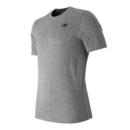 """New Balance Short Sleeve Heather Tech Tee - Men's"""
