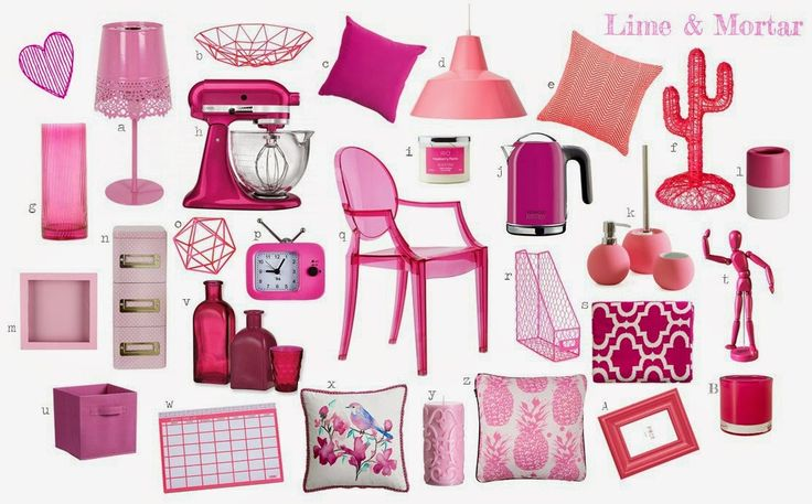 Lime & Mortar: Colour Pop: Pink
