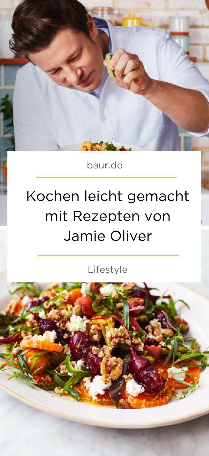 Kochen leicht gemacht mit Rezepten von Jamie Oliver #baur in 17