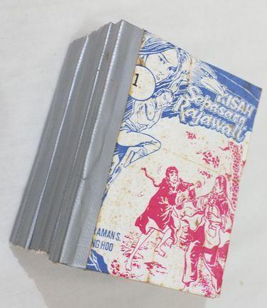 Buku Silat Kisah Sepasang Rajawali
