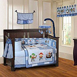 BabyFad Crib Bedding Sets For Baby Boyu0027s Nursery   Ten Piece Sets In  Various Colors And Themes Including Leopard Print, Barnyard, Teddy Bear And  Minky Brown
