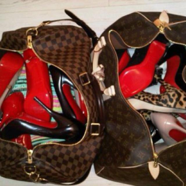 red sole high heel pumps louis vuitton
