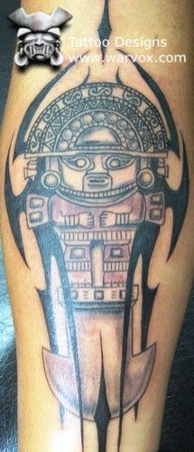 Tumi Tattoo » ₪ AZTEC TATTOOS ₪ Aztec Mayan Inca Tattoo Designs Instant Download