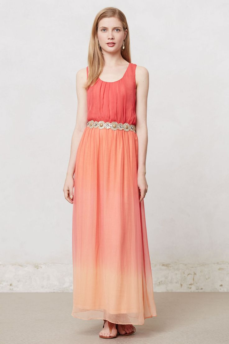 Ombre Horizon Dress... the back of it is nice too!