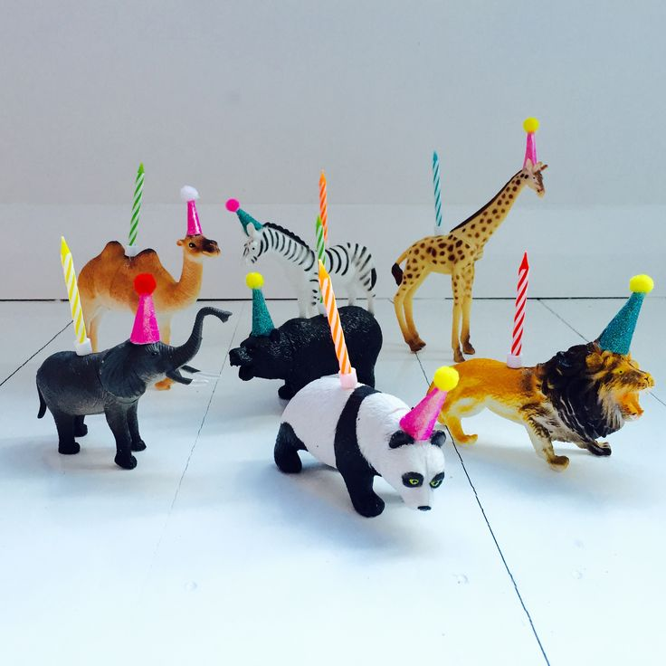 Party Animal cake toppers