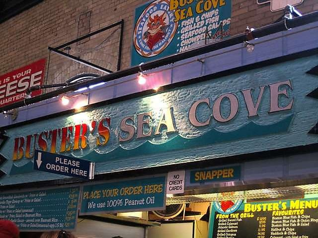 Buster's Sea Cove, St Lawrence Market, Toronto