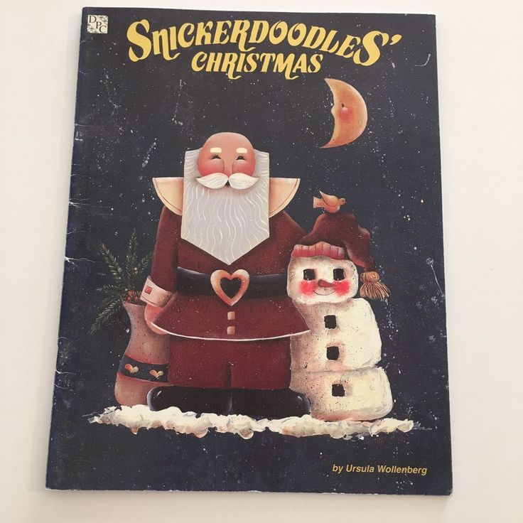 Snickerdoodles' Christmas Ursula Wollenberg Halloween Tole Decorative Painting #DarrowProductionCompany #DecorativePainting