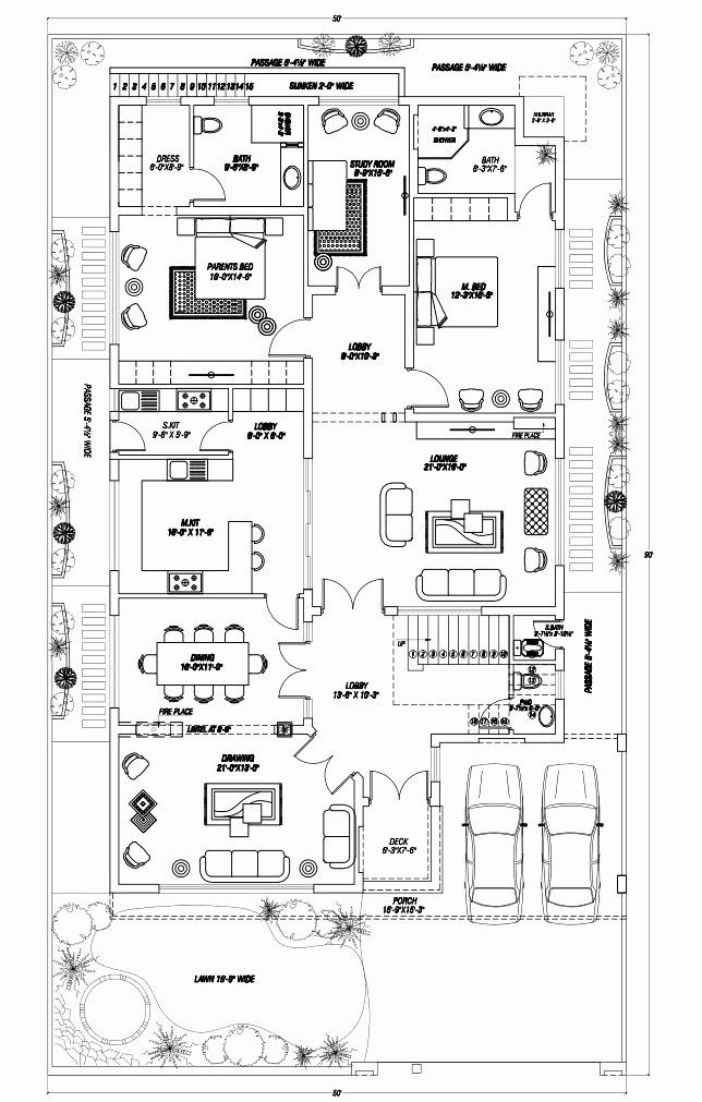 3 Floor House Plans Lovely Modern House Plans With Pictures Part 2 In 2020 House Map 10 Marla House Plan Cottage Floor Plans
