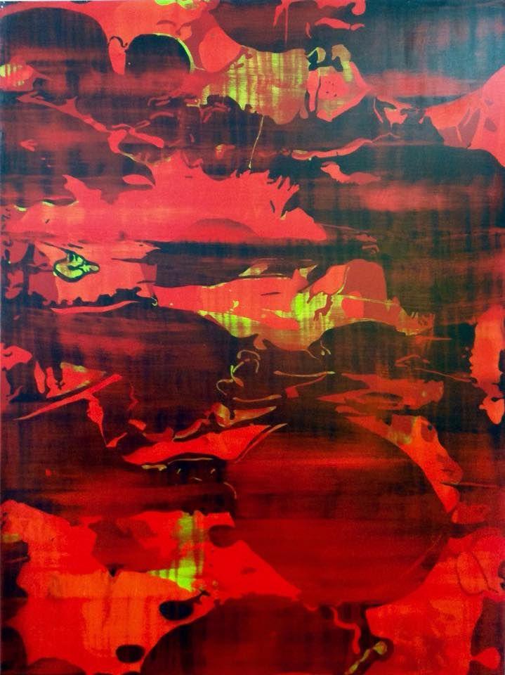 "Daniel Callori ""Untitled"" (Oil on linen 140 x 104) @riccilastiri Be Smart By Art"