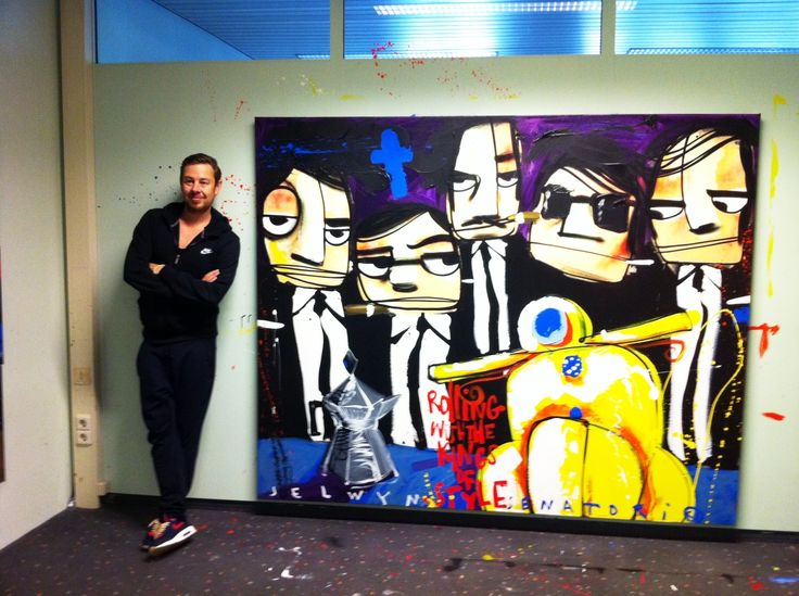 Kunsthuizen artist Selwyn Senatori. Works in collection at Kunsthuizen.nl #art #popart #painting #selwynsenatori #selwyn #senatori #kunst #kunsthuizen #kunstuitleen #kunsthuisamsterdam #kunsthuisleiden #kunsthuisbreda