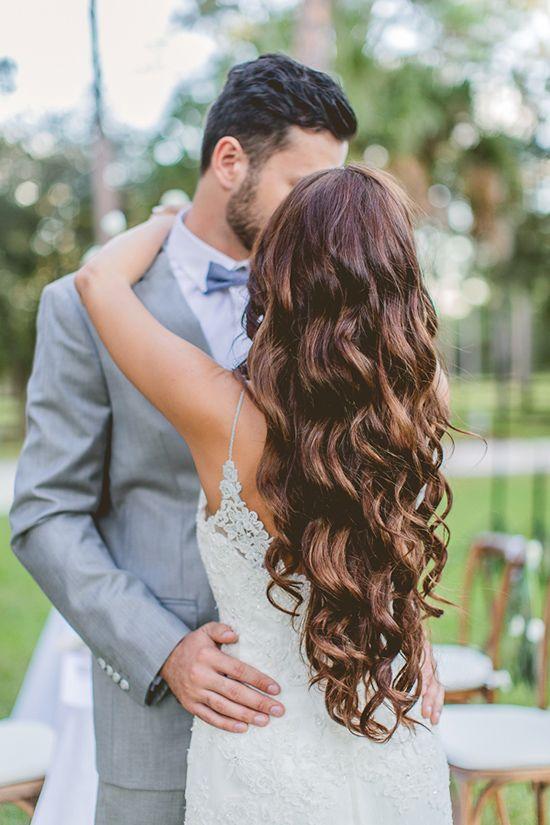 long wedding hair ideas @weddingchicks
