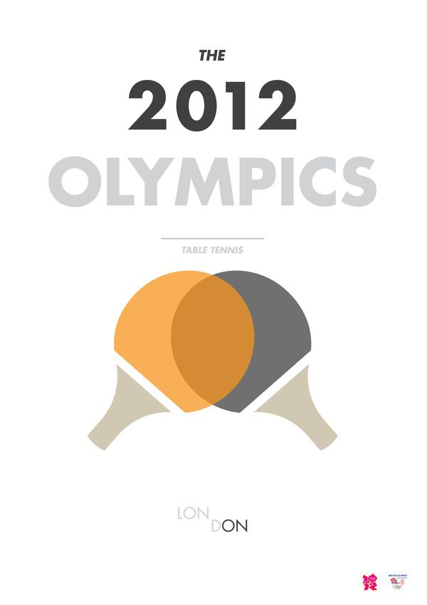 Olympics by Petros Afshar, via Behance