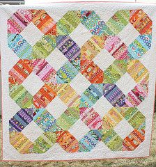 diaryofaquilter quilt: Connection Quilt, Quilt Ideas, Quilt Patterns, String Quilt, Rainbows, Quilts, Scrap Quilt, Amy Smart