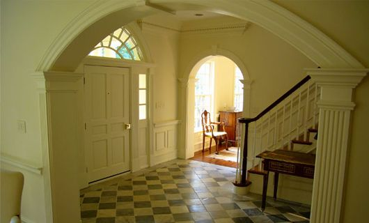 Foyer Interior Kit : Images about colonial revival homes on pinterest