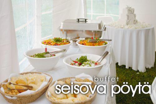 seisova pöytä ~ buffet