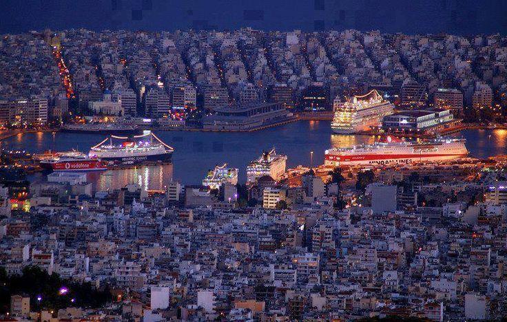Port of Piraeus Greece