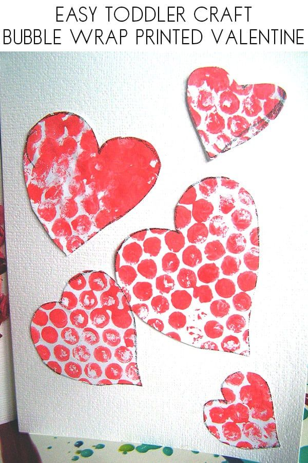 Simple Valentine S Card For Preschoolers To Make Valentine