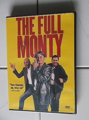 THE FULL MONTY DVD MOVIE ROBERT CARLYLE TOM WILKINSON MARK ADDY