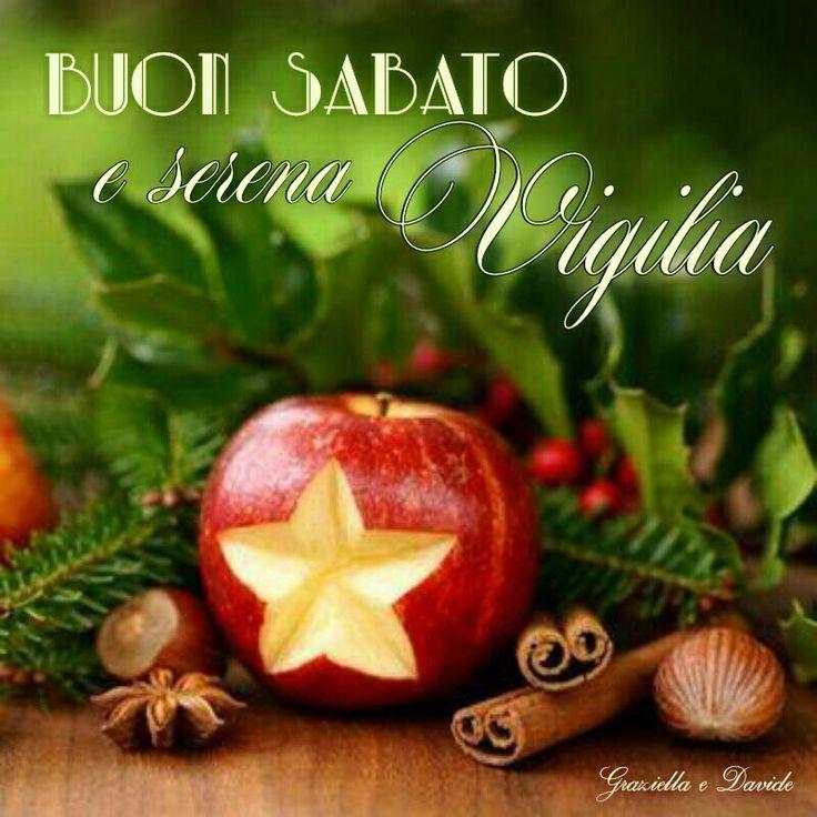 Sabato di Vigilia #natale #vigilia #sabato ♡ Graziella ~ Oui, c'est moi...