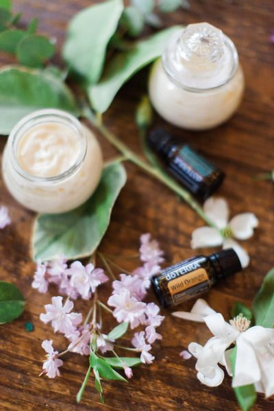 This essential oil body cream is the perfect gift for dry winters.
