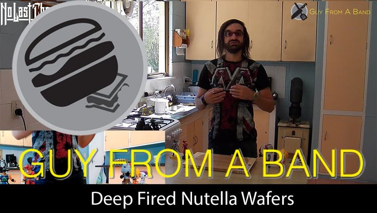Deep Fired Nutella Wafers