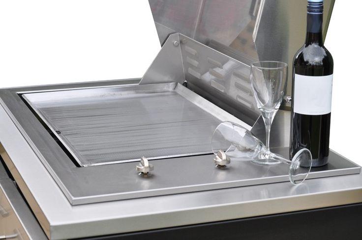 Heatlie IGE600 Island Gourmet Elite Stainless Steel BBQ | Appliance Sales Direct