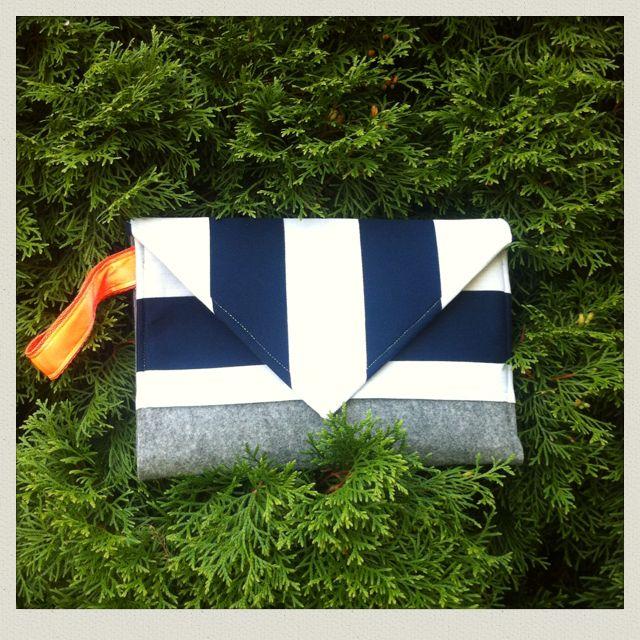 #kopertowka #pasy #NotSoSo #stripes #bag #Labelsshop #clutch