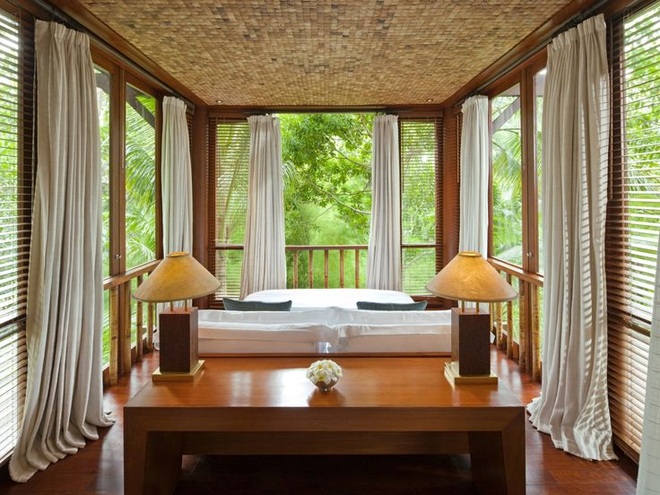 COMO Shambhala Estate has some suite bedrooms with sweet views #COMOhotels #Bali