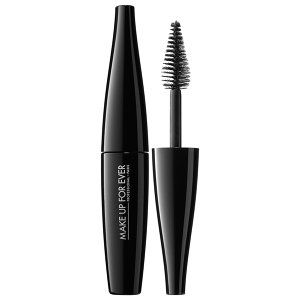 MAKE UP FOR EVER Smoky Extravagant Mascara in Black - mini #sephora $12 This stuff is dope