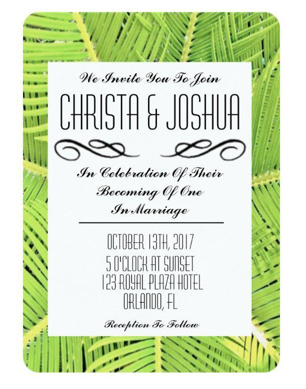 Custom Designed Wedding Invitations | Uniquely inspired weddings | Wedding theme invitations | Invitations by color, style & size | Zazzle Invitations