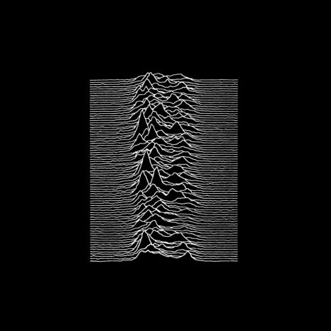 Joy Division, Unknown Pleasures Album Art (B)