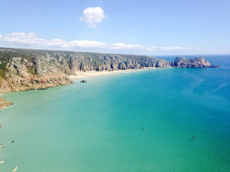 Porthcurno #cornwall the Dolphins were less than a mile offshore