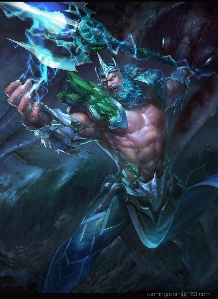 159 best images about ... Zeus Digital Painting