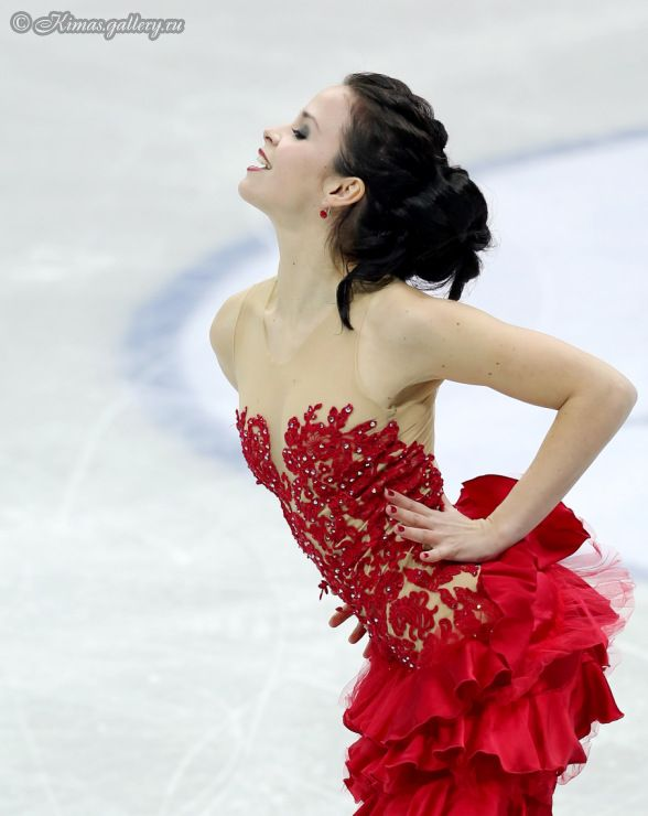 Anna CAPPELLINI / Luca LANOTTE ITA - Free Dance - Ice Dancing costume inspiration for Sk8 Gr8 Designs