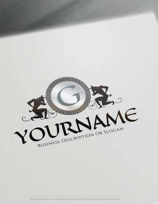 Make online #egyptian  Logo Design Logo Design with Free Logo Maker #LogoMaker