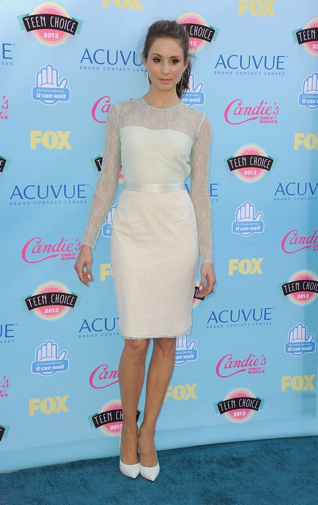 #Troian #Bellisario ai #Fox #Teen #Choice #Awards #pretty #little #liars #PRETTYLITTLELIARS #dress #ELISABETTA #FRANCHI #SS13