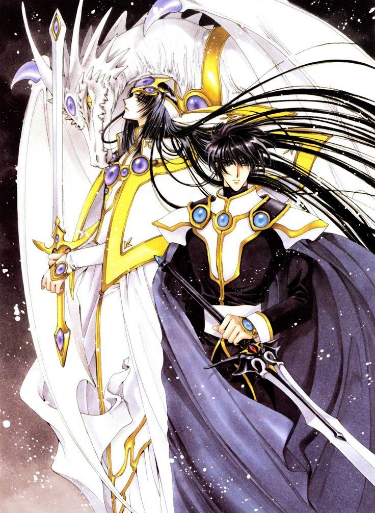 Картинки аниме рыцари магии