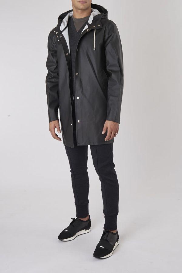 Stutterheim Stockholm Black Raincoat
