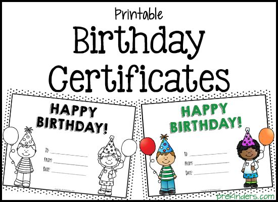 25 best ideas about Birthday Certificate – Happy Birthday Certificate Templates