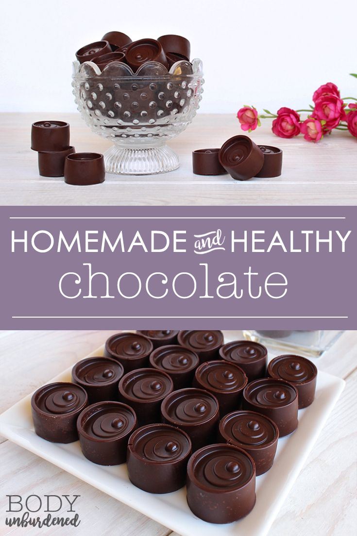 This homemade and healthy chocolate recipe is SO yummy and SO simple! Just 3 nutritious ingredients, including honey for natural sweetness and antioxidants.