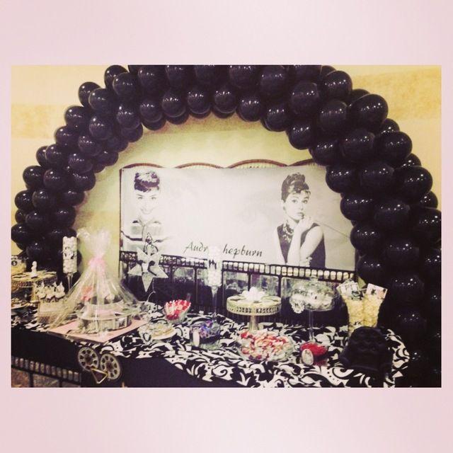 Idéias Audrey Hepburn Movie Night Partido | Foto 3 de 11 | Catch My Festa