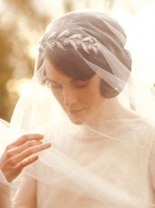 I didn't like the dress itself, but I like the headband-thing and veil (Lady Mary from Downtown Abbey)